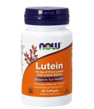 NOW LUTEIN 10MG A60