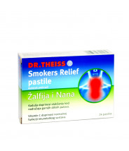 DR. THEISS SMOKERS RELIEF PASTILE A24