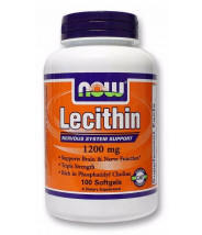 NOW LECITIN KAPSULE 1200MG A100