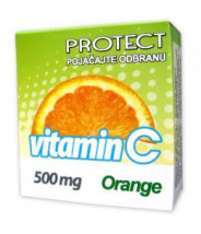 VITAMIN C TABLETE 10X500MG PROTECT