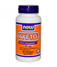 NOW 7-KETO KAPSULE 25MG A90