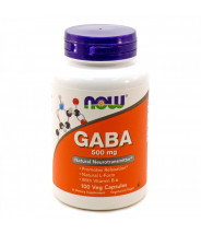 NOW GABA KAPSULE 500MG A100