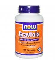 NOW GRAVIOLA 500MG 100CPS