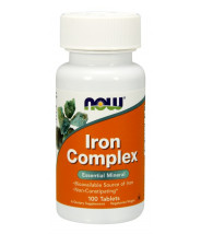 NOW IRON COMPLEX TABLETE A100