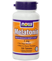 NOW MELATONIN TABLETE 1MG A100