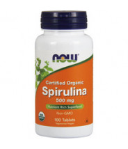NOW SPIRULINA TABLETE 500MG A100