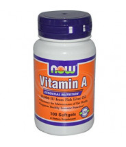 NOW VITAMIN A KAPSULE 10000IU A100
