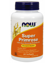 NOW SUPER PRIMROSE (NOĆURAK) KAPSULE 1300MG A60
