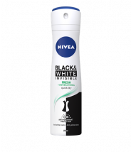 NIVEA BLACK & WHITE INVISIBLE FRESH DEZODORANS U SPREJU 150ML