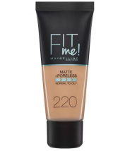 FIT ME PUDER NATURAL BEIGE 220