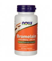 NOW BROMELAIN 2400 GDU KAPSULE 500MG A60
