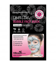MBEAUTY CHARCOAL BUBBLE DETOX MASKA ZA LICE 20ML