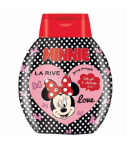 LA RIVE MINNIE MOUSE ŠAMPON + GEL ZA TUŠIRANJE 250ML