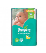 PAMPERS ACTIVE BABY PELENE MIDI 3 A20
