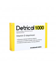 DETRICAL 1000 TABLETE A60