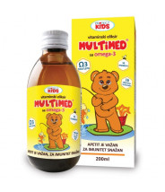 MULTIMED OMEGA-3 KIDS SIRUP 200ML