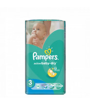 PAMPERS ACTIVE BABY-DRY PELENE MIDI (3) A58