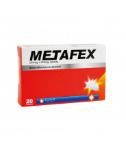 METAFEX TABLETE (200+325)MG A20